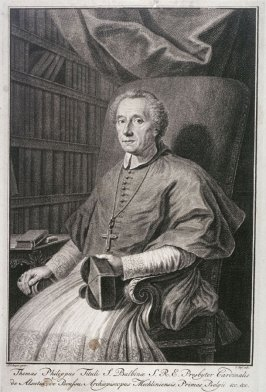 Portrait of Thomas Philip, Cardinal, Archbishop of Mechlin