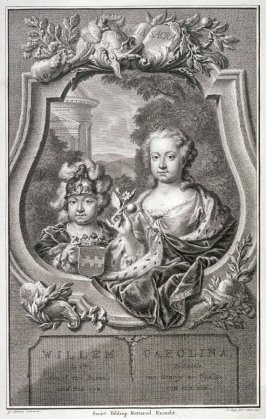 Portrait of Carolina, Princess of Orange and Nassau