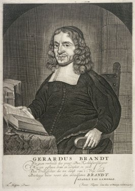 Portrait of Gerhardus Brandt, Church historian