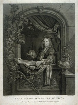 Self-Portrait of Gerard Dou: Lover of the Fine Arts and Sciences