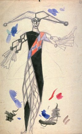 Costume design for Harlequin