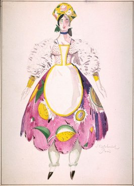 costume design for a maid
