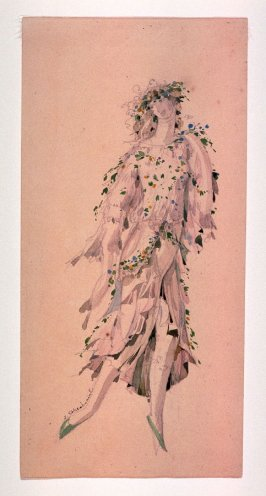 The Snow Maiden: costume design for the Snow Maiden