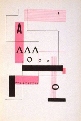 Untitled Abstract Illustration, in the book S Lodí Jez Dovází Caj A Kávu by Konstantin Biebl (Prague: Odeon, 1928)
