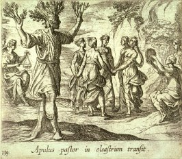 Apulus pastor in oleastrum transit (The Apulian Shepherd Changed into an Olive Tree), pl.139 from the series Ovid's Metamorphoses