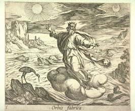 Orbis fabrica (The Creation of the World), pl.1 from the series Ovid's Metamorphoses