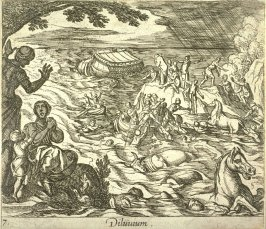 Diluvium (The Flood), pl. 7 from the series Ovid's Metamorphoses