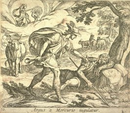 (Argus a Mercurio iugulatur (Mercury Killing Argus), pl. 10 from the series Ovid's Metamorphoses