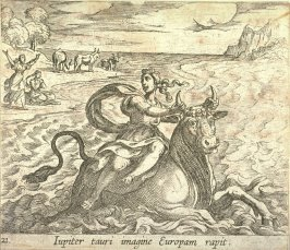 Iupiter tauri imagine Europam rapit (The Rape of Europa), pl. 21 from the series Ovid's Metamorphoses