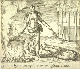 Aesoni decrepito inventam restituit Medea (Medea Restoring Aeson's Youth), pl. 64 from the series Ovid's Metamorphoses
