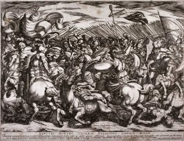 The Battle Between the Greeks and the Amazons
