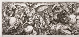 Battle Between Cavalry and Infantry, from the series Battle Scenes I