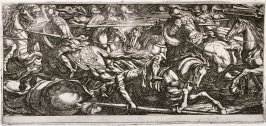 Battle Scene with a Cavalry Charge, from the series Battle Scenes I