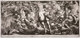 Cavalry Engagement, from the series Battle Scenes I