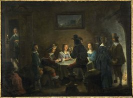 The Family Party (or Family of the Artist)