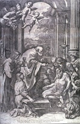 The Sacrament Administered to the Dying St. Gerome