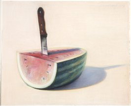 Watermelon Slice and Knife