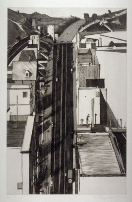 Downgrade, pl. 1, from the portfolio, Recent Etchings II