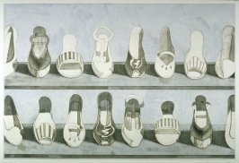 Shoe Rows, plate 3 from the portfolio, Recent Etchings II