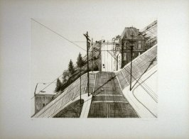 Down Mariposa, pl. 3, from the portfolio, Recent Etchings I