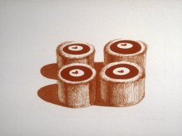 Cherry Cakes, pl. 5, from the portfolio, Recent Etchings I