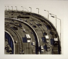 Freeway Curve, pl. 6, from the portfolio, Recent Etchings I