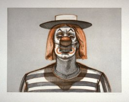 Clown, plate 7 from the portfolio, Recent Etchings II