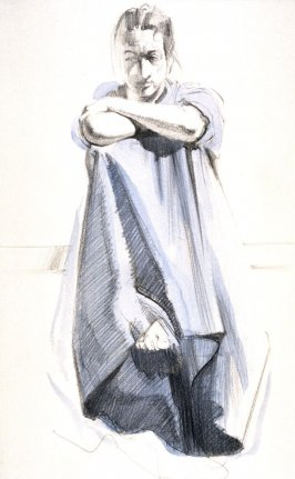Figure and Drapery Study