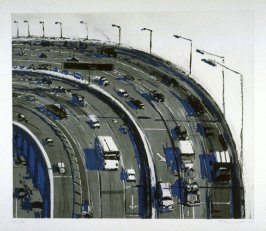 Freeway Curve, from Recent Etchings I
