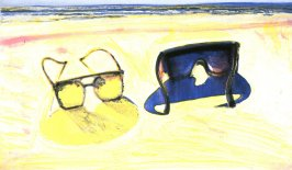 Working proof 14 for Beach Glasses