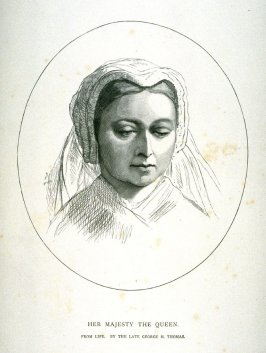 Her Majesty the Queen Victoria of England plus narrative page