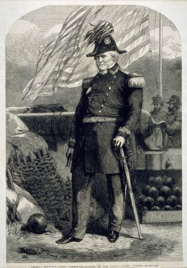 General Winfield Scott, Commander in Chief of the United States Forces.
