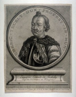 Portrait of Emeric, Comte de Teckely