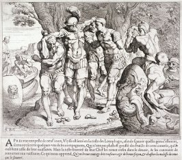 Ulysses and his Companions in the Land of the Lotus-Eaters, no. 5 from The Labors of Ulysses
