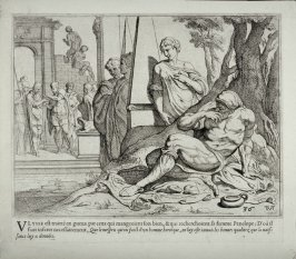 Ulysses as a Beggar at the Entrance of his own House, no. 36 from The Labors of Ulysses