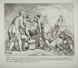 The Phaeacians Carry the Sleeping Ulysses to Ithaca, no. 30 from The Labors of Ulysses