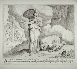 Minerva Waking Ulysses, no. 31 from The Labors of Ulysses