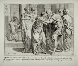 Ulysses and Penelope Embracing Each Other, no. 46 from The Labors of Ulysses