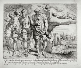 Ulysses and Telemachus on their Way to Ulysses' Father Laertes, no. 51 from The Labors of Ulysses