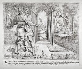Ulysses Meeting his Father Laertes, who is Hoeing in the Vineyard, no. 53 from The Labors of Ulysses