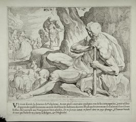 Polyphemus Tending his Sheep, no. 9 from The Labors of Ulysses
