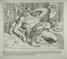 The Blinding of Polyphemus, no. 10 from The Labors of Ulysses