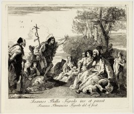 St. John the Baptist Preaching in the Wilderness
