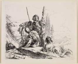 Three Soldiers and a Boy, from the series Vari Capricci