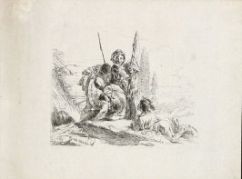 Three Soldiers and a Boy from the series Vari Capricci
