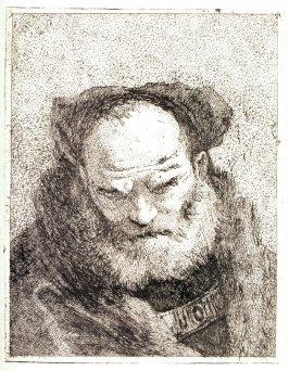 Old Man With A Beard from Raccolta di Teste numero trenta, Libro Primo (Collection of Thirty Heads)