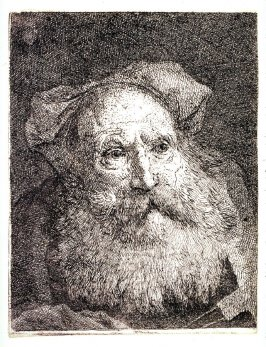 Old Man With A Beard from Raccolta di Teste numero trenta (Collection of Thirty Heads)