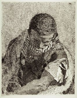 Young Moor, from Raccolta di Teste numero trenta (Collection of Thirty Heads)