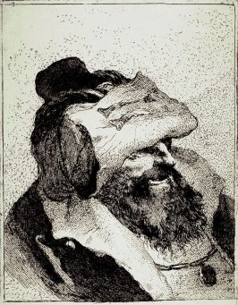 Old Man with a Hat on his Forehead, from Raccolta di Teste numero trenta (Collection of Thirty Heads)