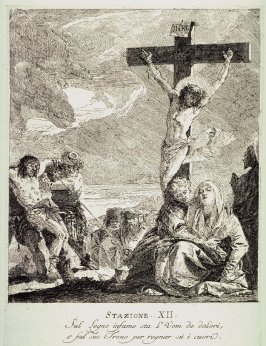 The Crucifixion, Station 12 from the series Via Crucis (Stations of the Cross)